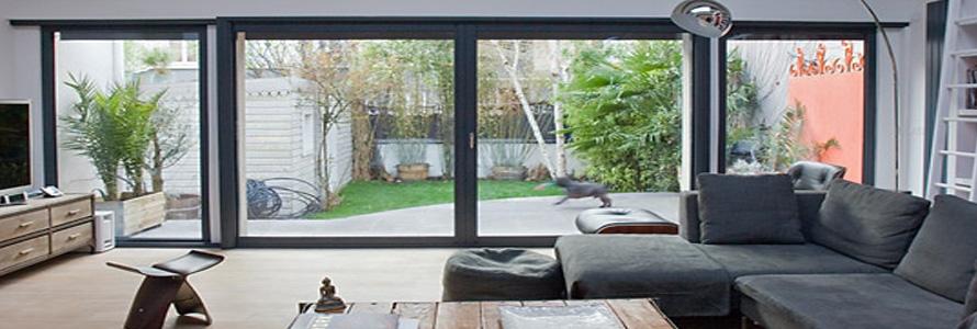 le prix d achat d une baie vitr e galandage. Black Bedroom Furniture Sets. Home Design Ideas